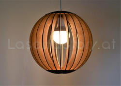 Laserfactory Lampen aus Holz